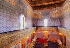 The Mausoleum of Mohammed V in Rabat Stock Photos