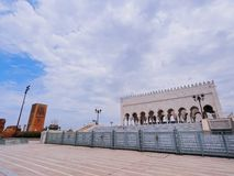 The Mausoleum of Mohammed V in Rabat Royalty Free Stock Photo