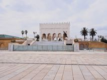 The Mausoleum of Mohammed V in Rabat Royalty Free Stock Photography