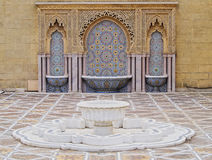 The Mausoleum of Mohammed V in Rabat Royalty Free Stock Images