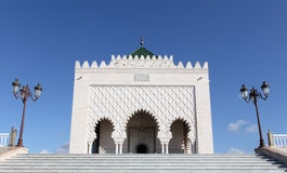 Mausoleum of Mohammed V, Rabat royalty free stock images