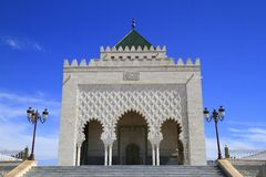 Mausoleum of Mohammed V Stock Photos