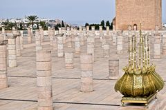 Mausoleum of Mohammed V. In Rabat of Morocco Royalty Free Stock Photo