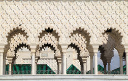 Mausoleum of Mohammed V, Rabat, Morocco. Royalty Free Stock Photo