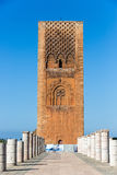 Mausoleum of Mohammed V in Rabat, Morocco. Listed in the Unesco World Heritage places. Royalty Free Stock Photos