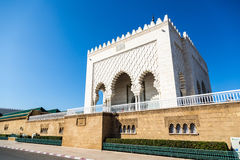 Mausoleum of Mohammed V in Rabat, Morocco. Listed in the Unesco World Heritage places. Stock Photo