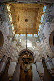 Mausoleum of Moulay Idris in Meknes, Morocco. Stock Images