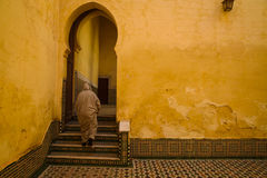 Mausoleum of Moulay Idris in Meknes, Morocco. Stock Photography
