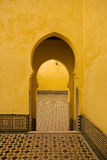 Mausoleum of Moulay Ismail Stock Photography