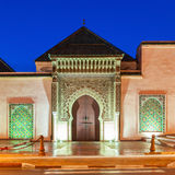 Mausoleum Moulay Ismail Royalty Free Stock Image