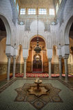 Mausoleum of Moulay Ismail in Meknes, Morocco. Stock Photography