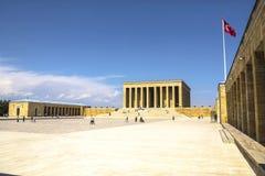 Mausoleum of Mustafa Kemal Ataturk Stock Photo