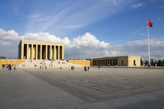 The mausoleum of Mustafa Kemal Ataturk royalty free stock image