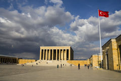 The mausoleum of Mustafa Kemal Ataturk Stock Photo