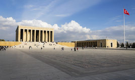 The mausoleum of Mustafa Kemal Ataturk Stock Photography