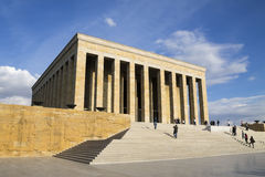 The mausoleum of Mustafa Kemal Ataturk Royalty Free Stock Photos