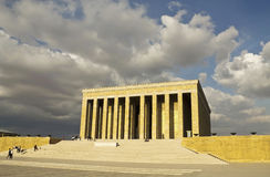 Mausoleum of Mustafa Kemal Ataturk Stock Photos