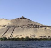 Mausoleum near Aswan Stock Photo