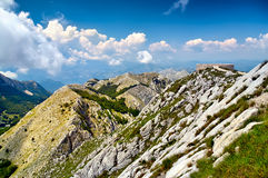 The mausoleum of Njegos located on the top of the Lovcen Mountai. N, Montenegro Stock Images