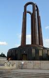 Mausoleum och gravvalv av den okända soldaten, Carol Park, Bucharest, Rumänien Royaltyfria Foton