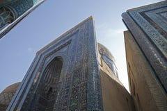 Mausoleum in Oezbekistan Stock Foto