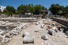 Mausoleum på Halicarnassus Royaltyfria Bilder