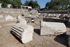 Mausoleum på Halicarnassus Arkivfoto