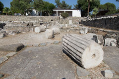 Mausoleum på Halicarnassus Royaltyfria Foton