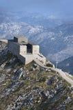 Mausoleum. Of Petar Petrovic Njegosh, on Lovcen mountain, Montenegro royalty free stock image