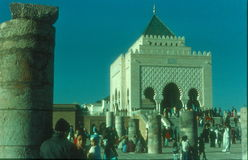 Mausoleum in Rabat, Morocco Royalty Free Stock Images