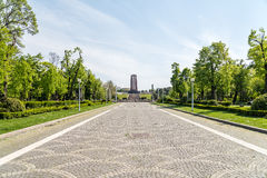 The Mausoleum Of Romanian Heroes Stock Image