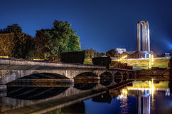 The Mausoleum Of Romanian Heroes in Carol Park , Bucharest at ni Stock Photography