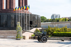 The Mausoleum Of Romanian Heroes Stock Images