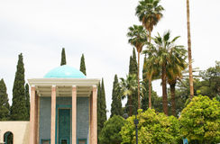 Mausoleum of Saadi park in Shiraz Stock Photos