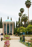 Mausoleum of Saadi park in Shiraz Royalty Free Stock Photography