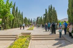 Mausoleum of Saadi in Shiraz Stock Images