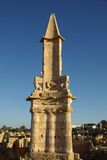 Mausoleum in Sabratha, Libië Royalty-vrije Stock Foto's