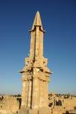 Mausoleum in Sabratha, Libië Royalty-vrije Stock Fotografie