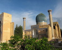 Mausoleum at Samarkand Royalty Free Stock Photos