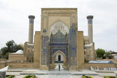 Mausoleum in Samarkand Stock Images