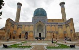 Mausoleum, Samarkand, Uzbekistan Royalty Free Stock Image