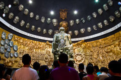 Mausoleum and sculpture of Eloy Alfaro in Stock Photos