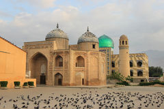 The mausoleum of Sheikh Massal ad-Din in Khujand city, Tajikistan Royalty Free Stock Photos