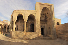 Mausoleum of Shirvanshahs in Baku, Azerbaijan Stock Photos
