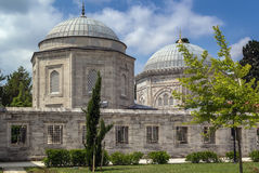 The mausoleum of Suleyman, Istanbul Royalty Free Stock Photos
