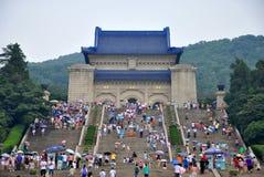 mausoleum sun参议员博士yat 免版税图库摄影