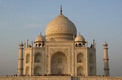 Mausoleum Taj Mahal ist gelegen in Agra, Indien Lizenzfreies Stockbild