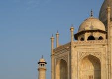 Mausoleum Taj Mahal ist gelegen in Agra, Indien Lizenzfreie Stockfotos