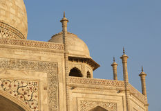 Mausoleum Taj Mahal  is a  located in Agra, India Royalty Free Stock Image