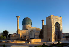 Mausoleum of  Tamerlane (Timur) Stock Photo